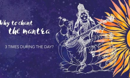 Why to chant the mantra three times during the day?