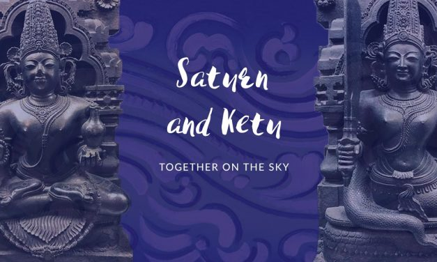 Saturn and Ketu together on the sky