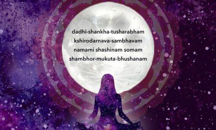 Chandra (Moon) Pranam