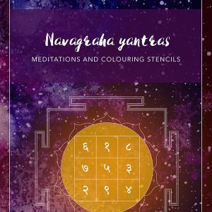 Navagraha yantras - colouring e-book