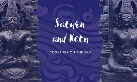 Saturn and Ketu together on the sky