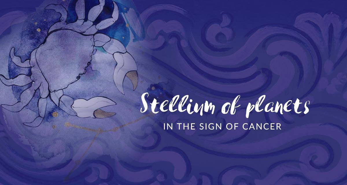 Stellium Of Planets In Cancer