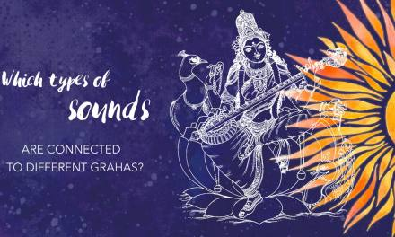 Which types of sounds are connected to different Grahas?