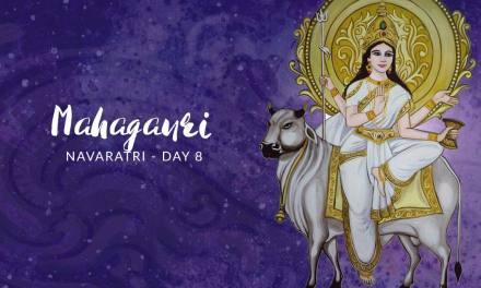 Navaratri Day 8: Goddess Mahagauri
