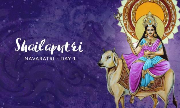Navaratri Day 1: Goddess Shailaputri