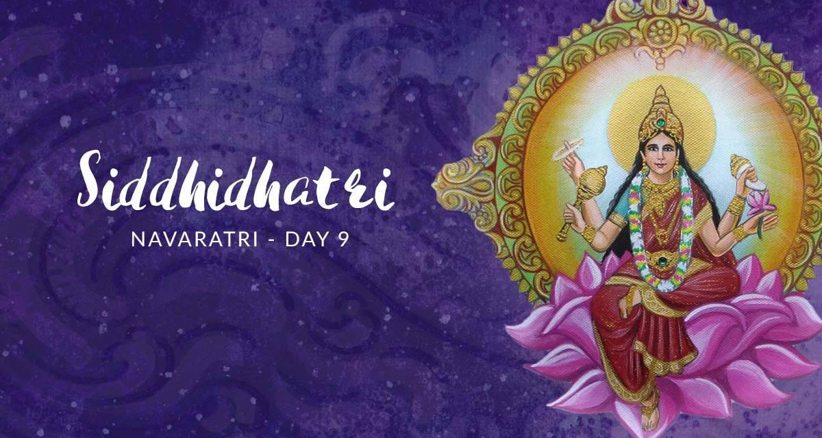 Navaratri Day 9: Goddess Siddhidhatri