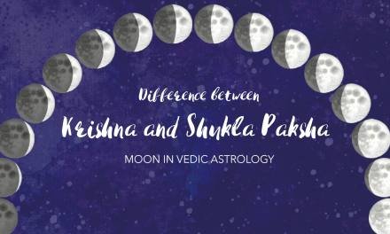 Difference between Shukla Paksha and Krishna Paksha Moon
