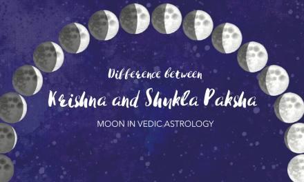 Difference between Shukla Paksha and Krishna Paksha Moon