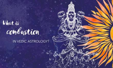 What is combustion in Vedic astrology?